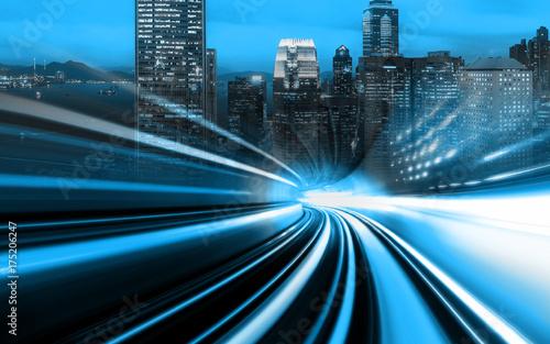 Plakat Koncert lekkiej prędkości łączącej miasto