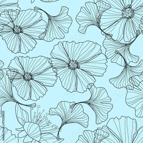 79b42598866e07 Fototapeta delikatne kwiaty - tapety na wymiar - pasjadecor24.pl