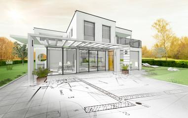 Projekt budowy domu architekta
