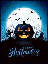 Halloween Theme With Jack O La...
