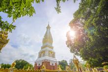Wat Phra That Phanom At Nakorn-pranom Provience, Thailand