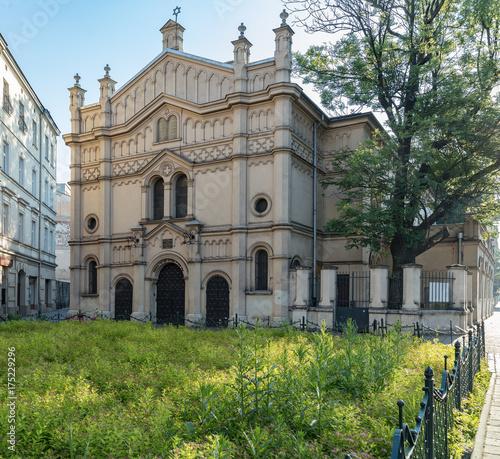 Zdjęcie XXL Świątynia Synagoga, Kraków