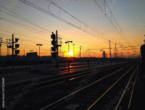Zdjęcie XXL Alba - dworzec Termini w Rzymie