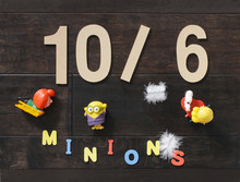 Minion Toys For Kids With Colo...