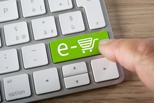 E-commerce, On Line Shop Key O...