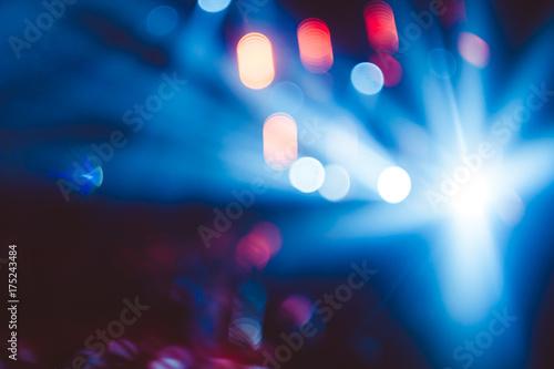 Fotografie, Obraz  searchlights at a concert
