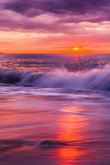 Obraz Traumhafter Sonnenaufgang am Meer