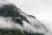 Landscape Of Slope Mountain Wi...