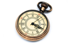 Vintage Watch Pendant Isolated...