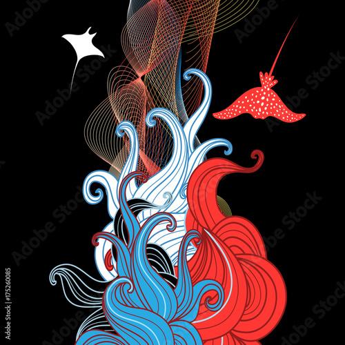 abstrakcyjna-ilustracja-z-morskimi