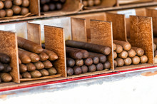 Cuban Cigars In Boxes In Key W...