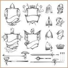 Collection Of Vector Heraldic ...