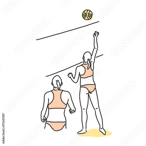 Voleibol de playa Pósters en Europosters.es
