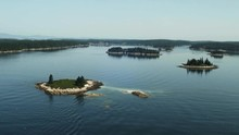 Aerial Islands Near Vinalhaven...
