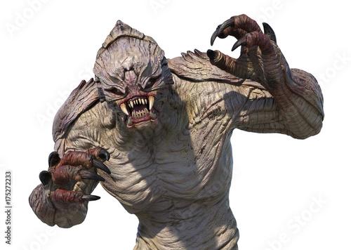 Valokuva Alien Monster Attacking