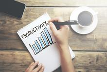 Woman Written Productivity Word