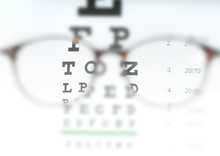 Eye Vision Test Chart Seen Thr...