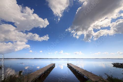 Photo Lake Ogawara in Aomori,Japan