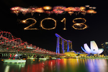 2018 Happy New Year Firework S...