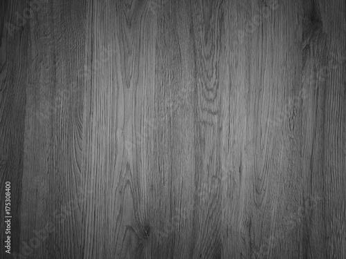 Türaufkleber Holz Black wood background vignette.
