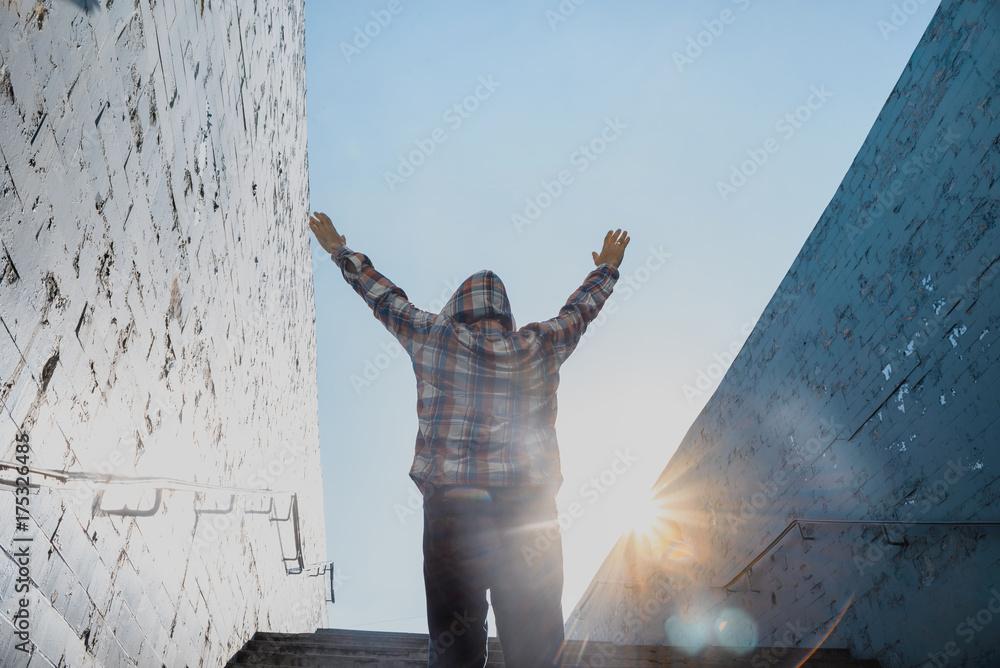 Fototapeta Prayer and god