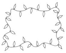 Sketchy Frames Illustration. H...