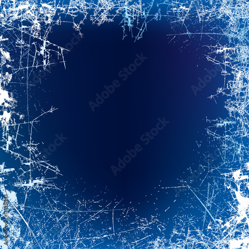 new year background frosted glass texture night frosted window vector illustration