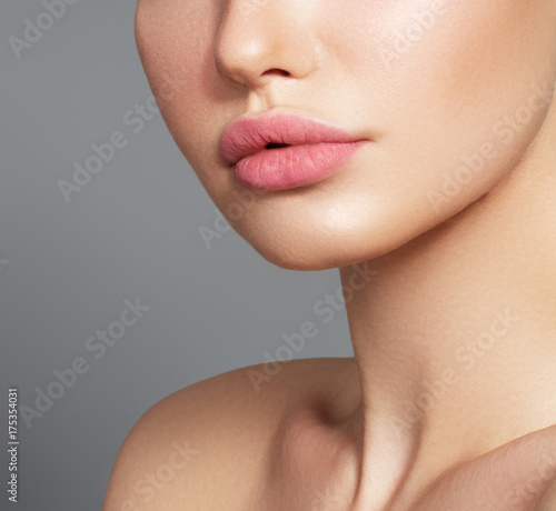 Photo Sexy plump full lips
