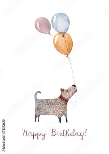 urocza-kartka-urodzinowa-wykonana-z-akwareli