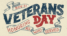 Veterans Day, Honoring All Who...