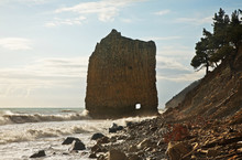 Sail Rock In Praskoveevka Near...