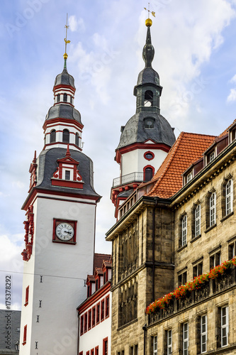 Zdjęcie XXL Ratusz w Chemnitz w Saksonii