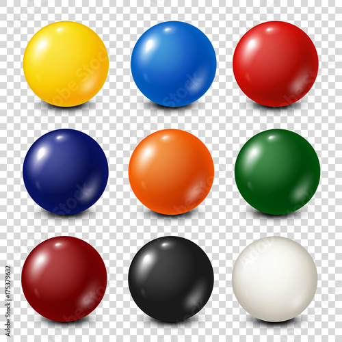 Tablou Canvas Lottery, billiard,pool balls collection
