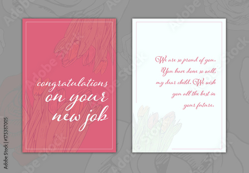 New job greeting card layout 18 buy this stock template and explore new job greeting card layout 18 m4hsunfo