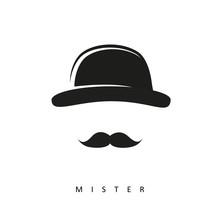 Mister Mit Schnurrbart