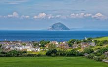 Die Insel Alisa Craig In Schottland