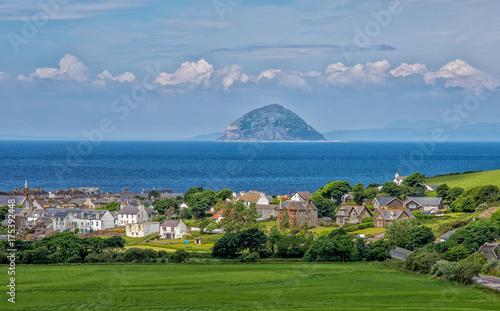 Photo Die Insel Alisa Craig in Schottland