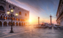 Famous St.Marco Square In Venice, Italy
