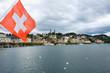 Historic city center of Lucerne, Canton of Lucerne, Switzerland.