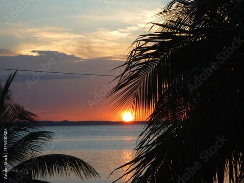 Zdjęcie XXL zachód słońca