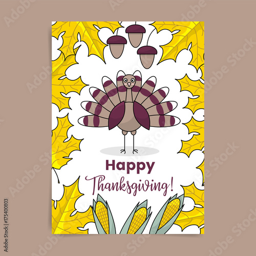 Photographie  Thanksgiving poster