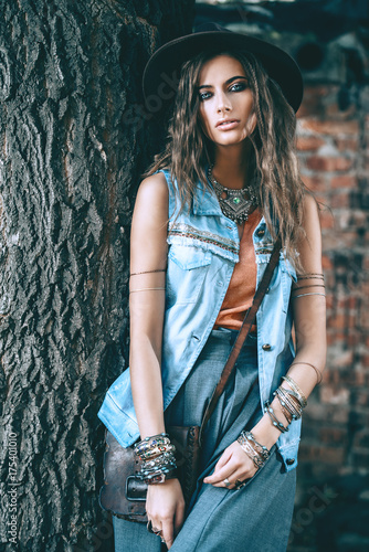 Poster Gypsy denim jeans clothes