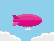 Airship Vector Illustration