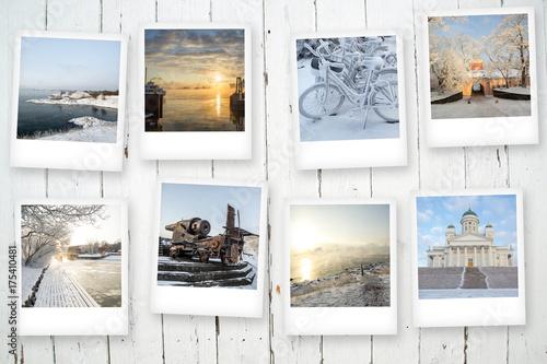 Photo  Polaroid, Suomenlinna, Helsinki, Finland