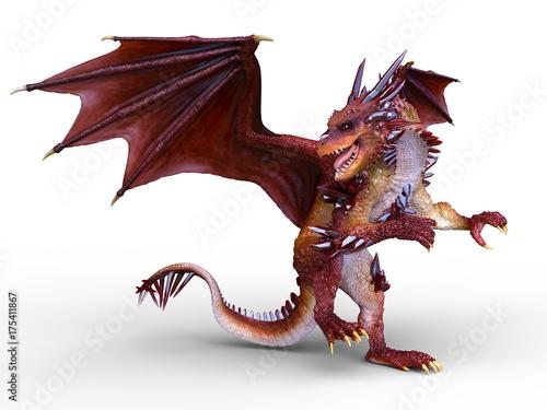 Plakat Dragon