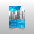 Brochure design template vector.Flyers annual report. Leaflet cover presentation. Layout . illustration.