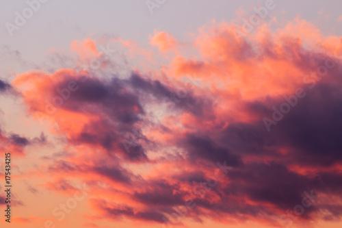 Foto op Plexiglas Crimson 夕暮れ