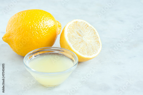 Fresh lemon juice
