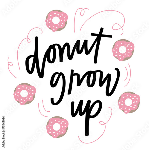 Photo  Donut grow up
