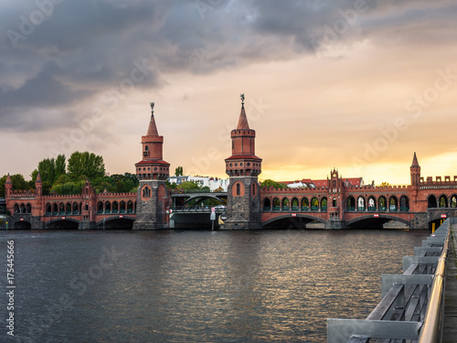Obraz na dibondzie (fotoboard) Oberbaumbrücke